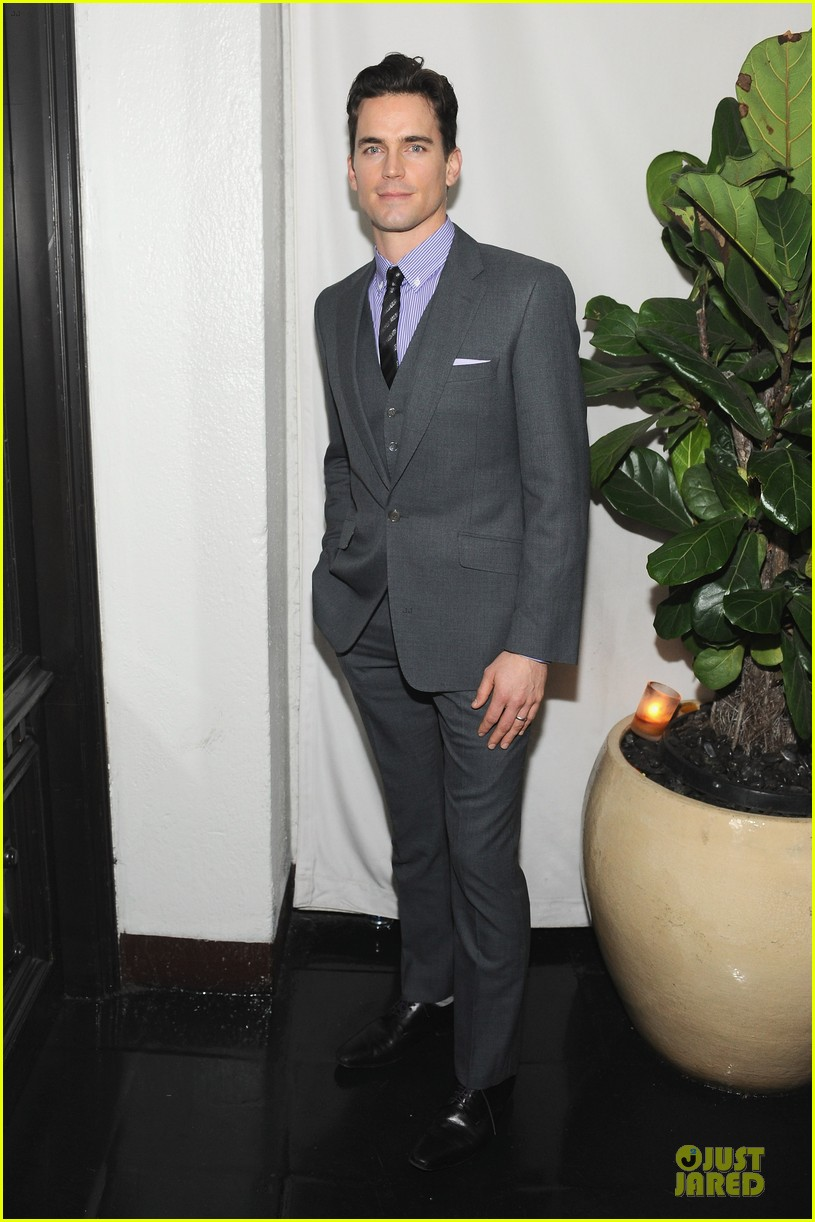 matt bomer & jena malone w magazine pre golden globes party 03