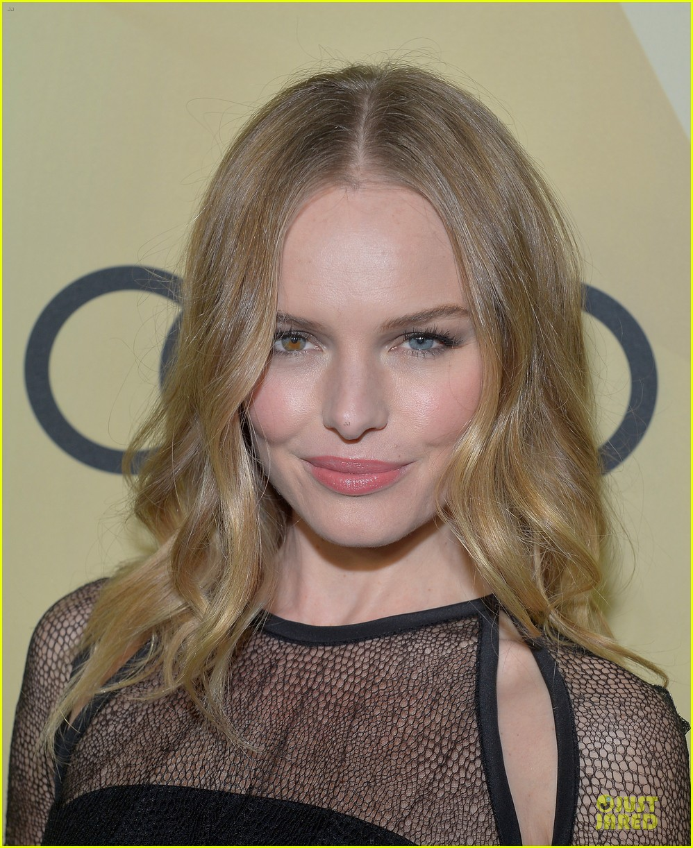 kate bosworth & michael polish sheer golden globe kick off party 08