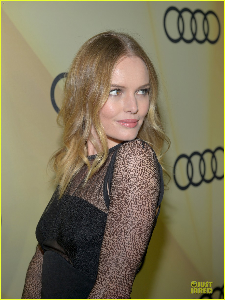 kate bosworth & michael polish sheer golden globe kick off party 13