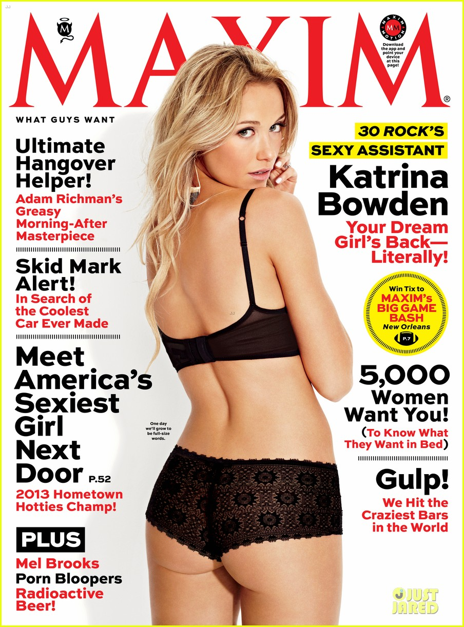 katrina bowden covers maxim magazines january february 2013 05