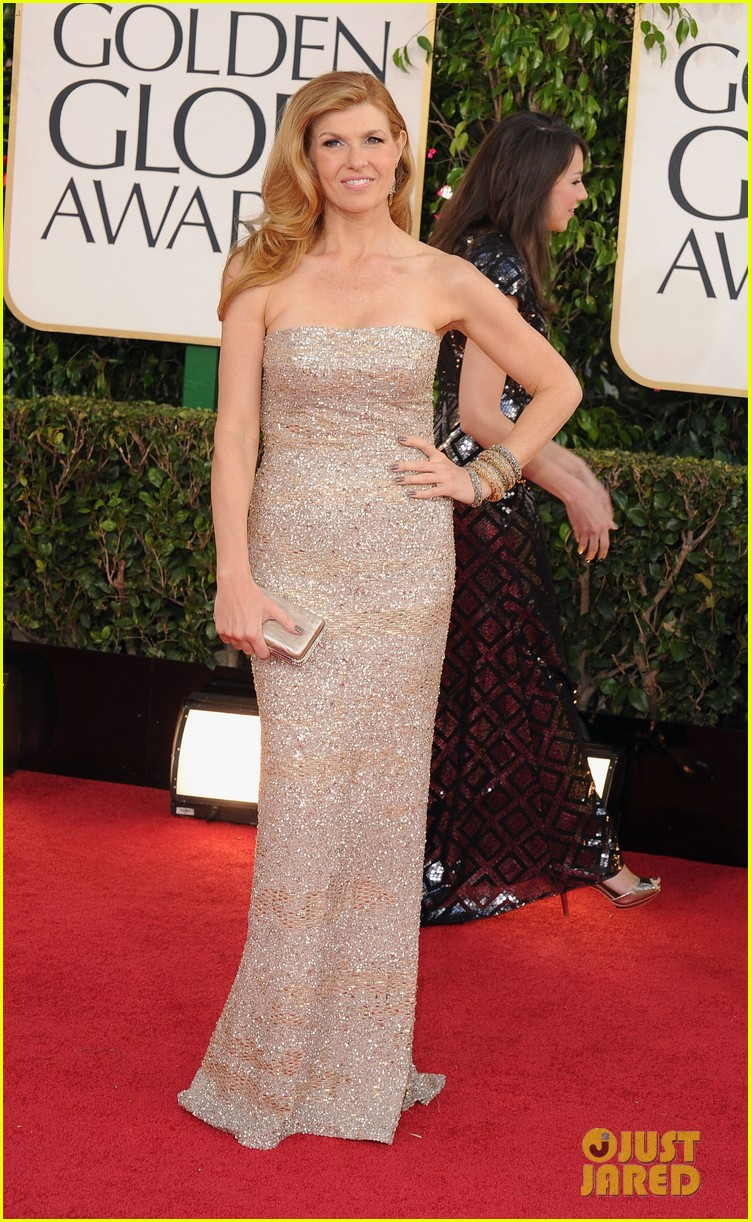 connie britton jessica lange golden globes 2013 red carpet 02
