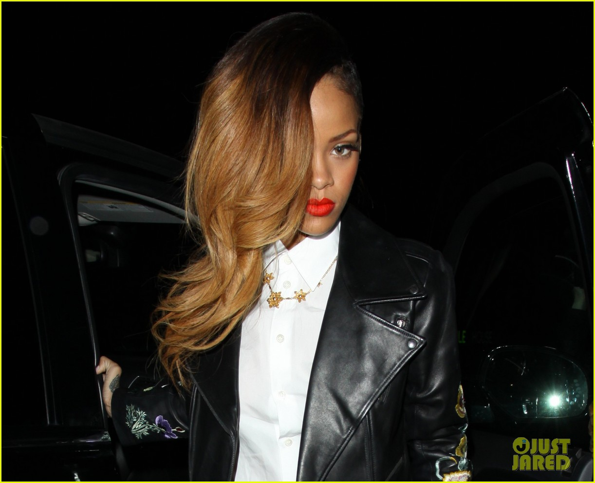 rihanna chris brown greystone manor night out 012796158