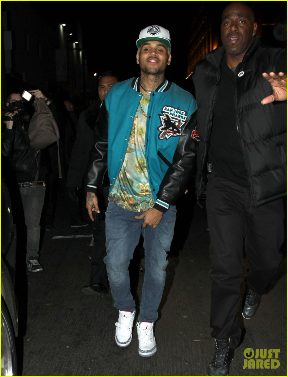 chris brown roxbury club night out 01