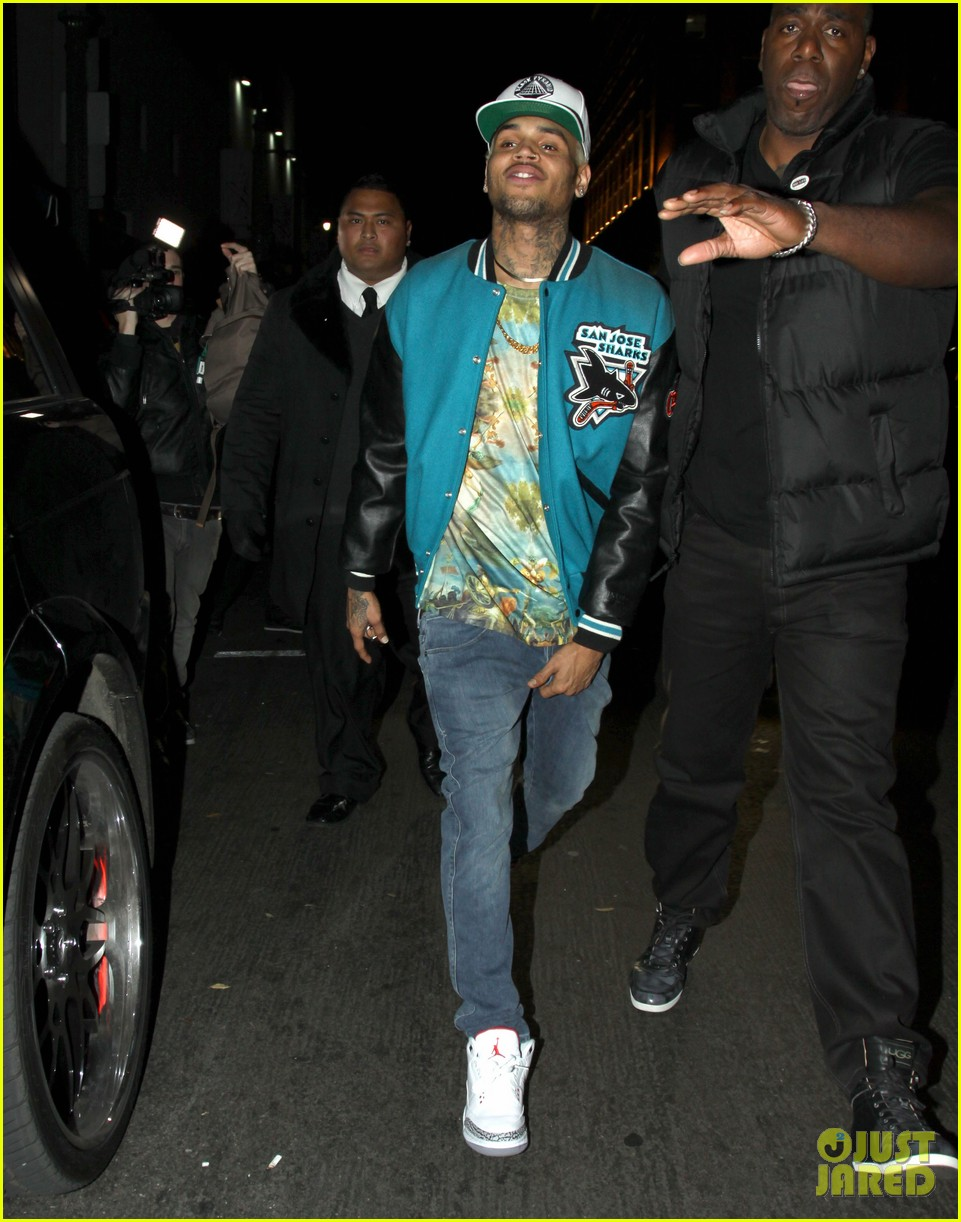 chris brown roxbury club night out 03