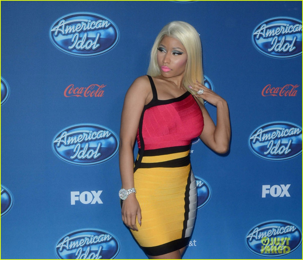 mariah carey nicki minaj american idol premiere screening 30
