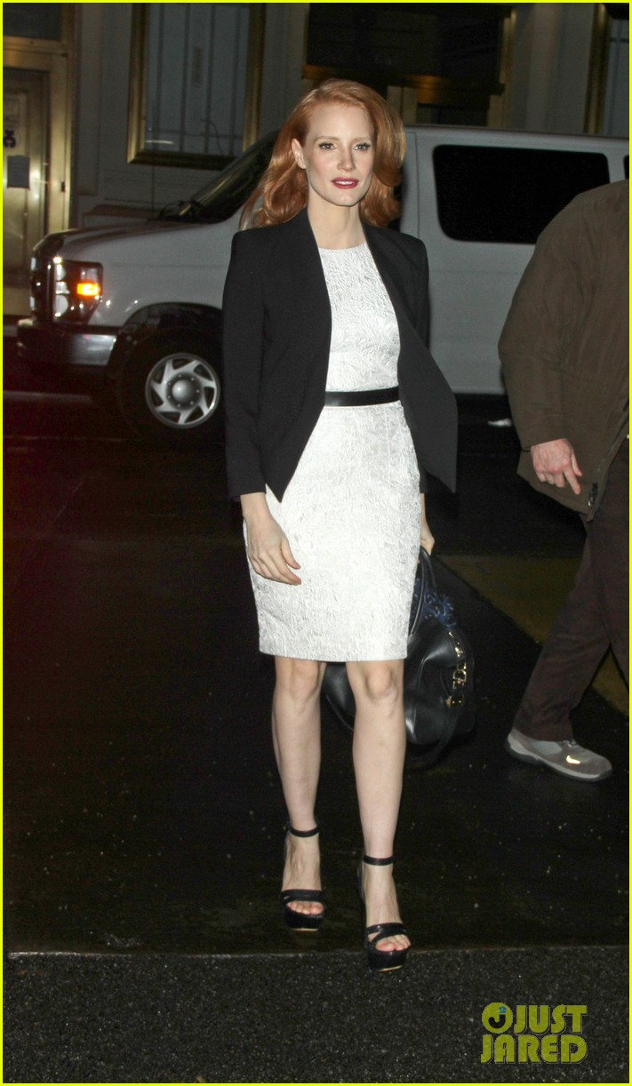 jessica chastain daily show appearance 03