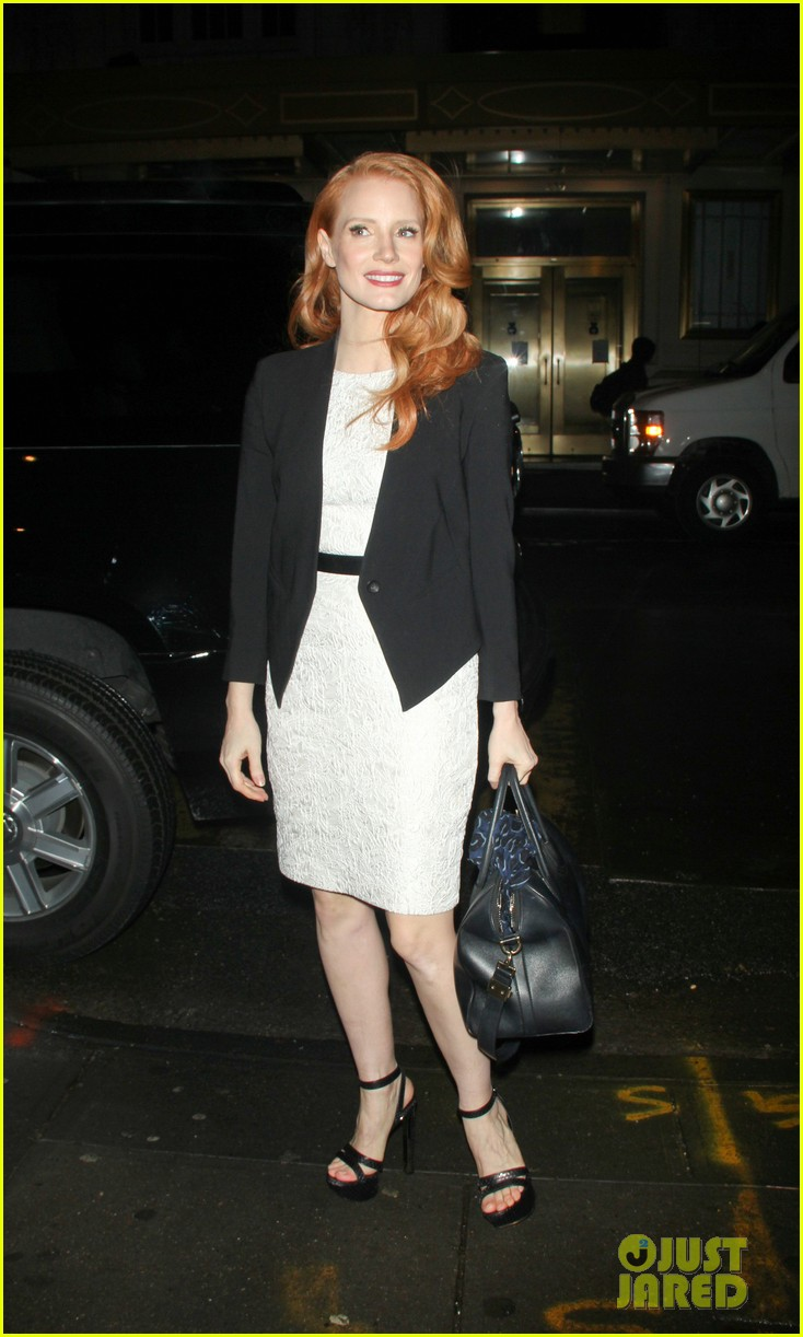 jessica chastain daily show appearance 15