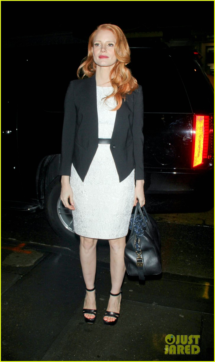 jessica chastain daily show appearance 17