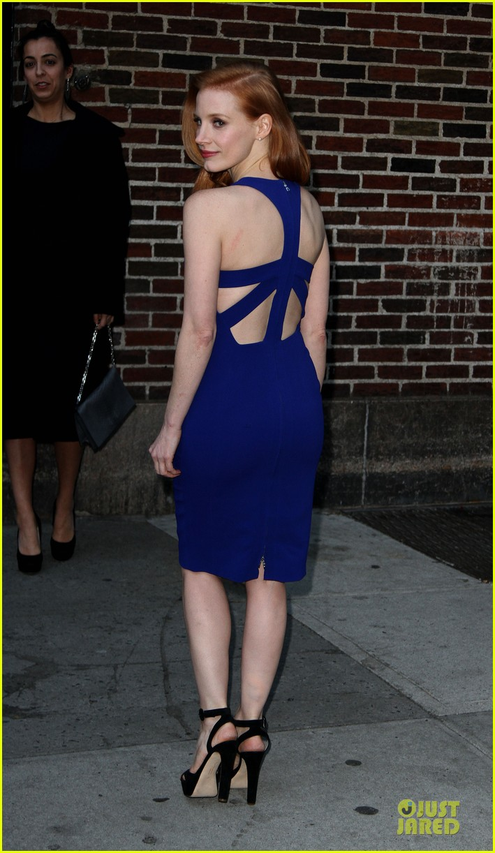 jessica chastain mama new york screening 03