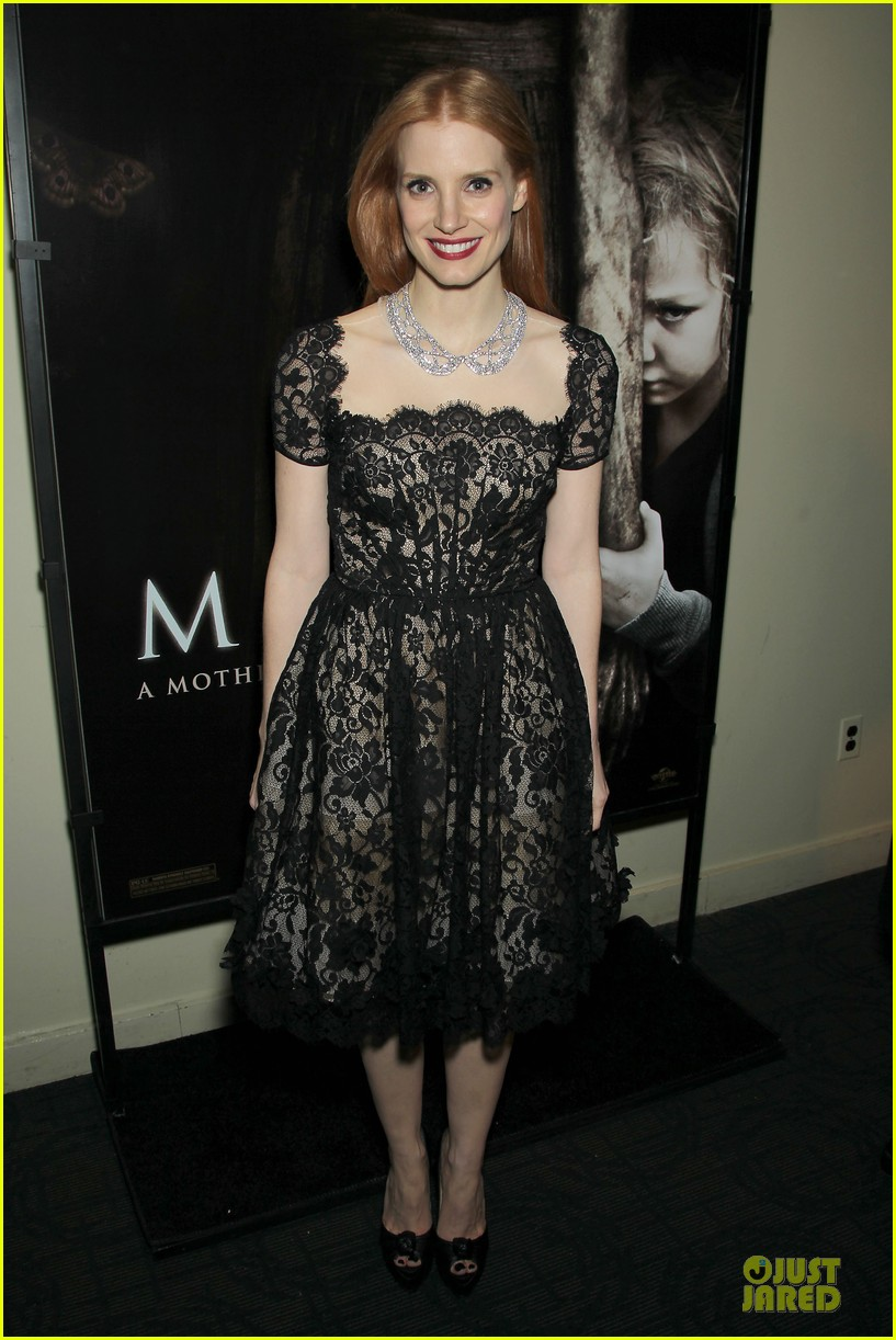jessica chastain mama new york screening 19