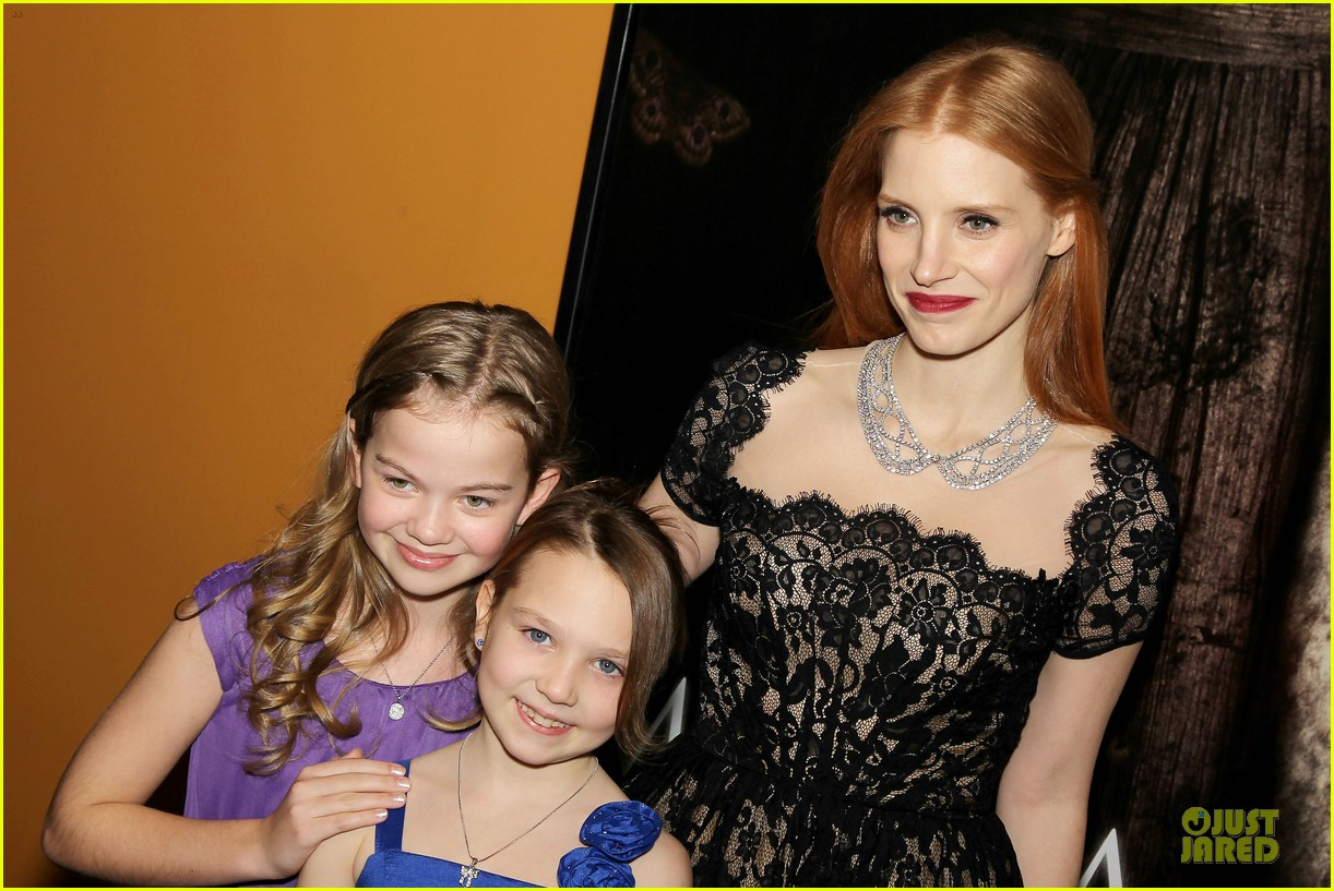 jessica chastain mama new york screening 22