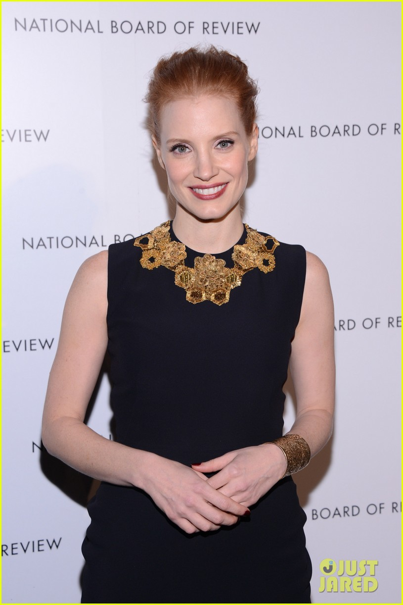 jessica chastain national board of review awards gala 2013 06