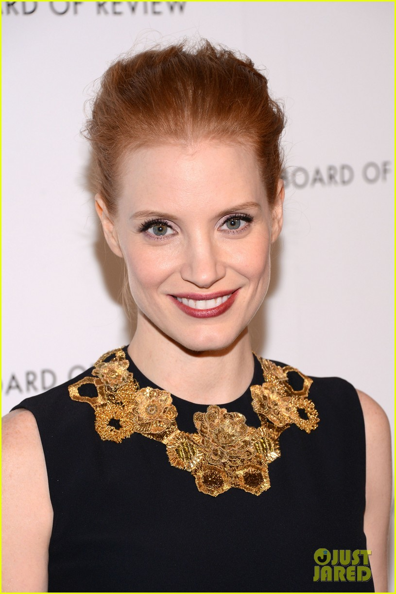 jessica chastain national board of review awards gala 2013 09
