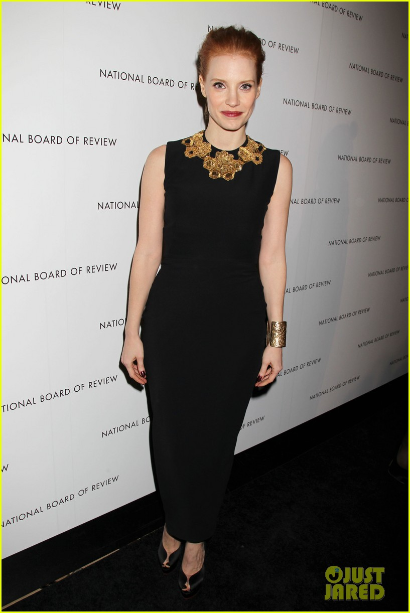 jessica chastain national board of review awards gala 2013 10