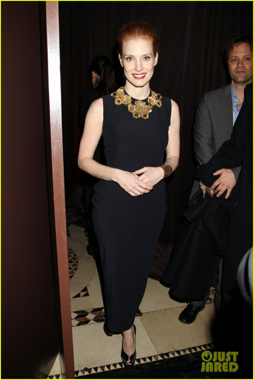 jessica chastain national board of review awards gala 2013 11