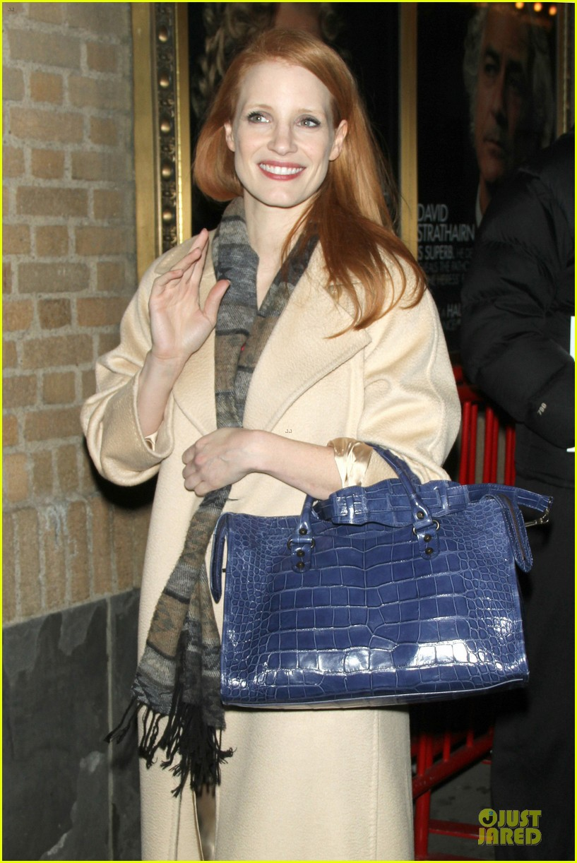 jessica chastain post golden globe win heiress performance 02