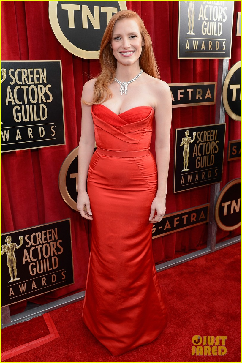 jessica chastain sag awards 2013 01