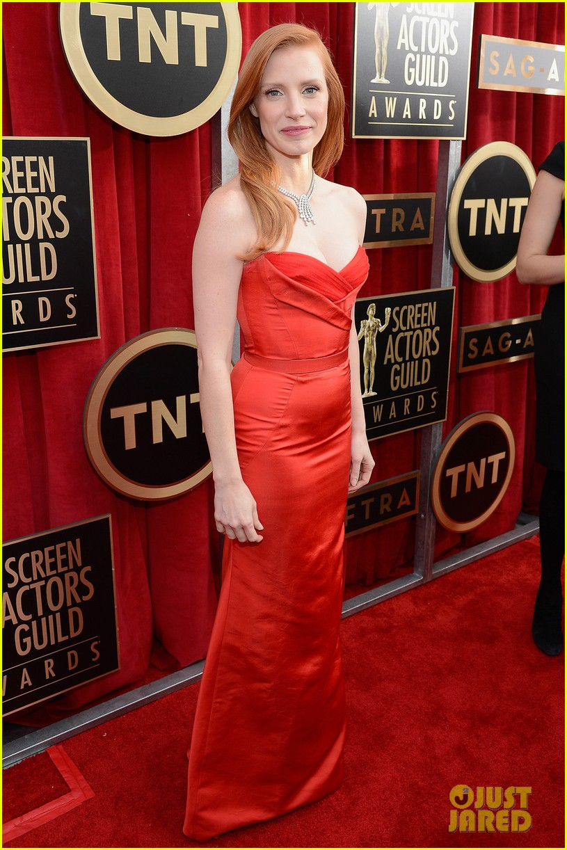 jessica chastain sag awards 2013 03