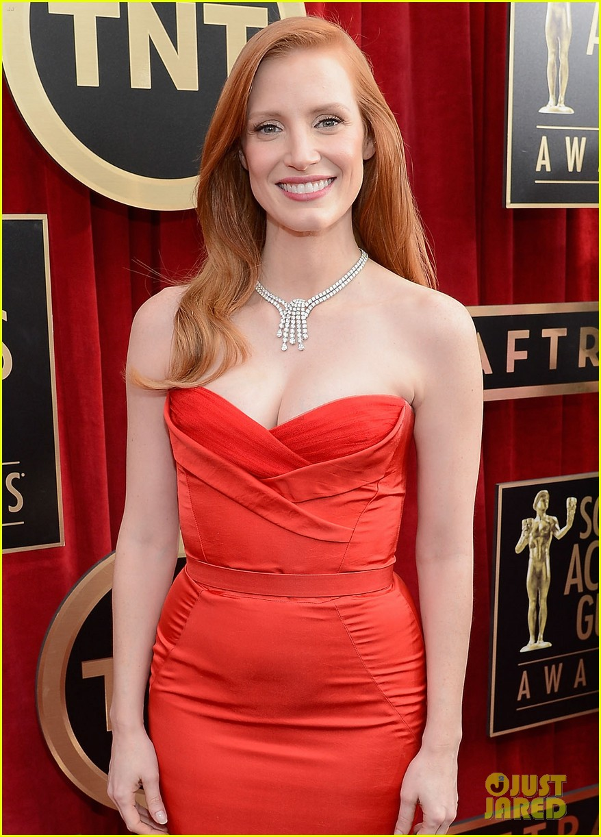 jessica chastain sag awards 2013 04