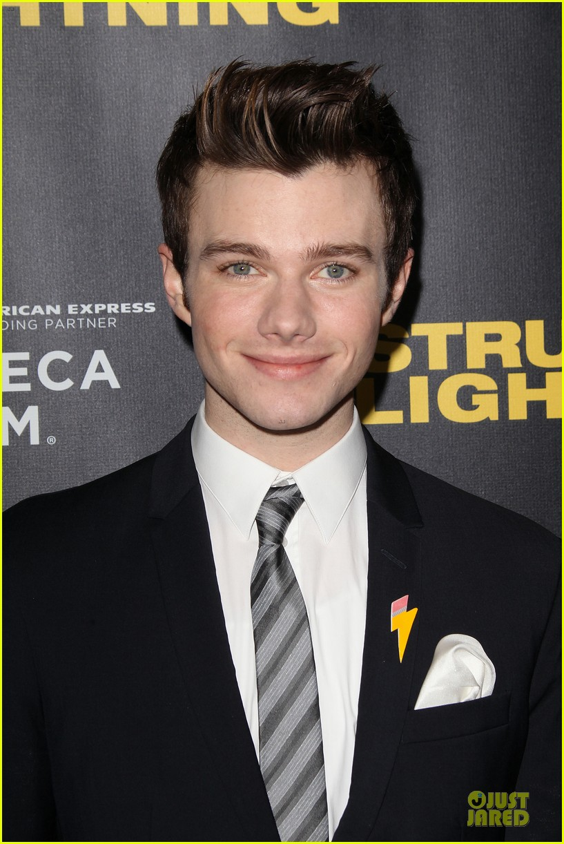chris colfer & rebel wilson struck by lightning premiere 02