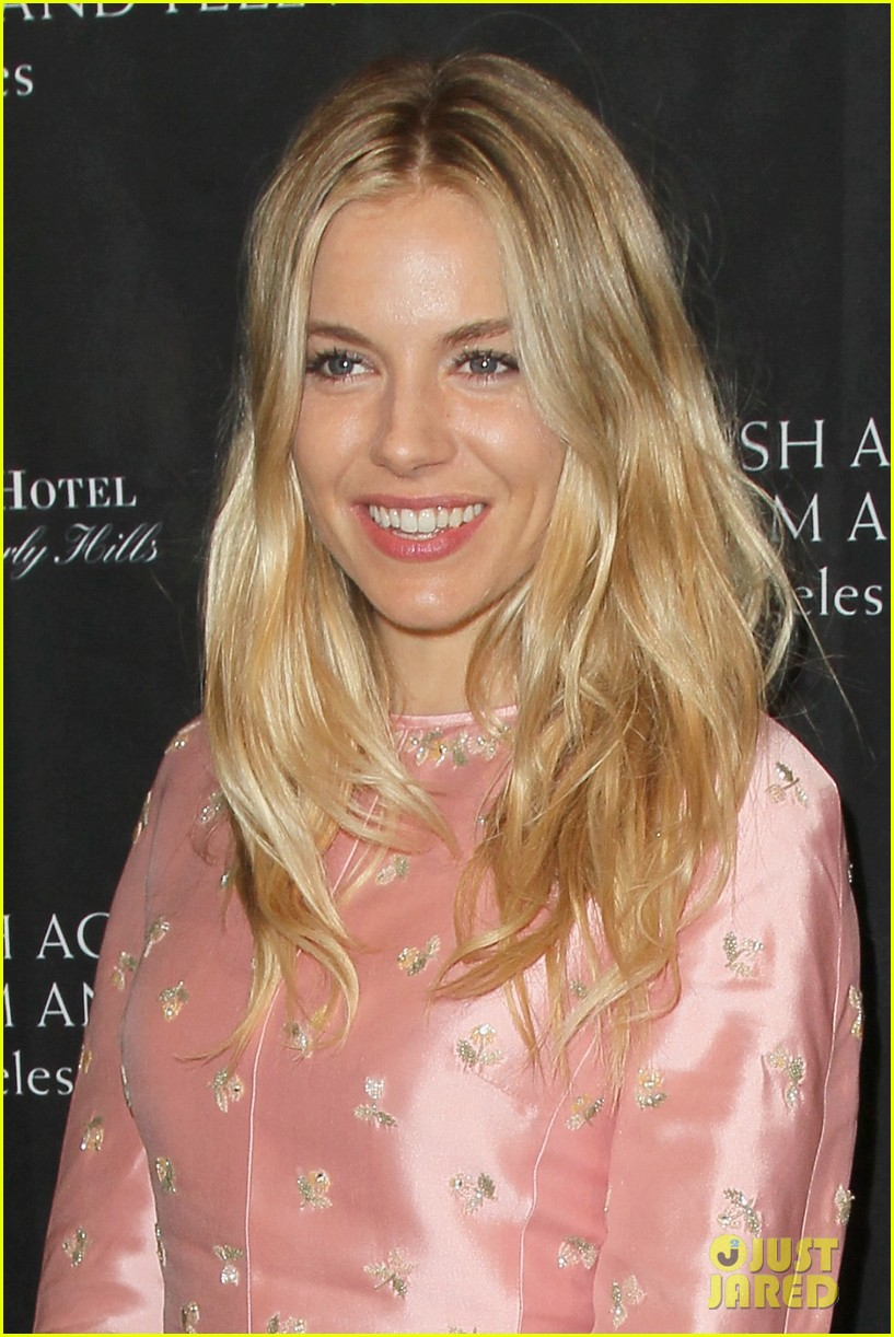 marion cotillard sienna miller bafta tea party 2013 02