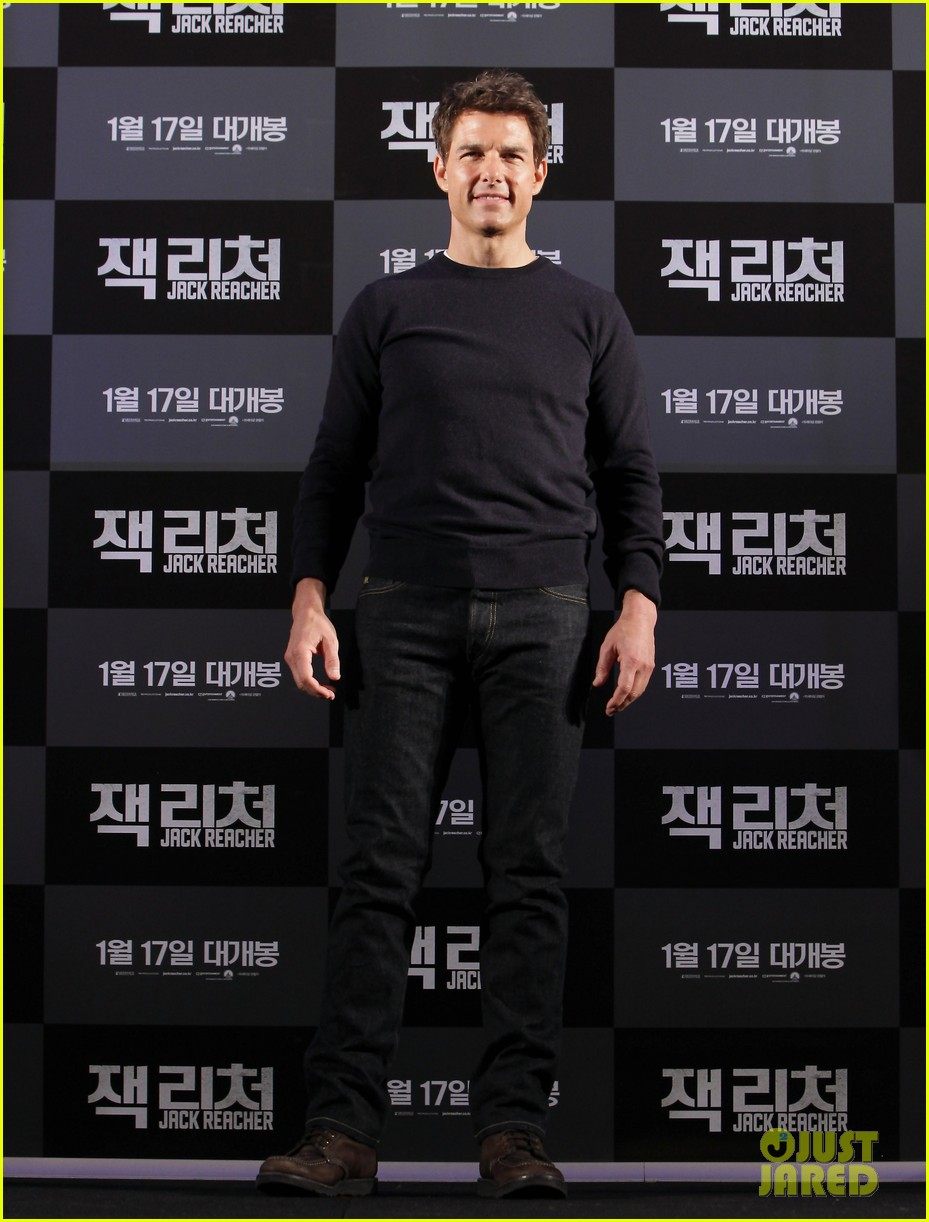 tom cruise rosamund pike jack reacher seoul photo call 23