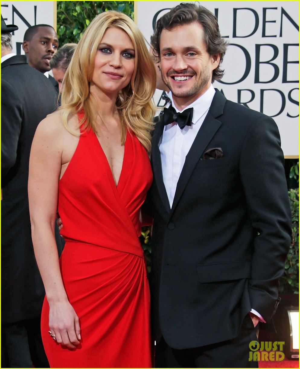 claire danes hugh dancy golden globes 2013 red carpet 10