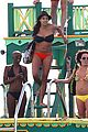 rosario dawson barbados bikini babe with shirtless danny boyle 01