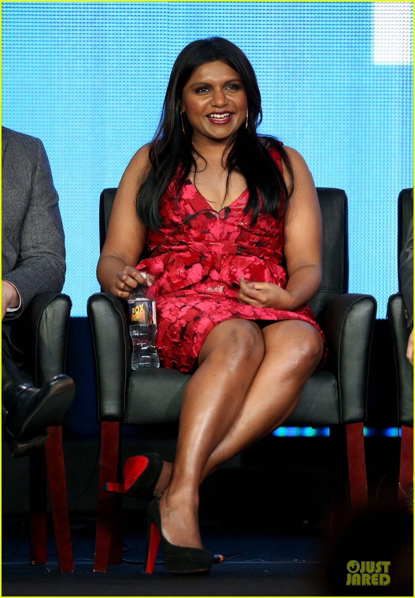 zooey deschane & mindy kaling new girl & mindy project panel 03