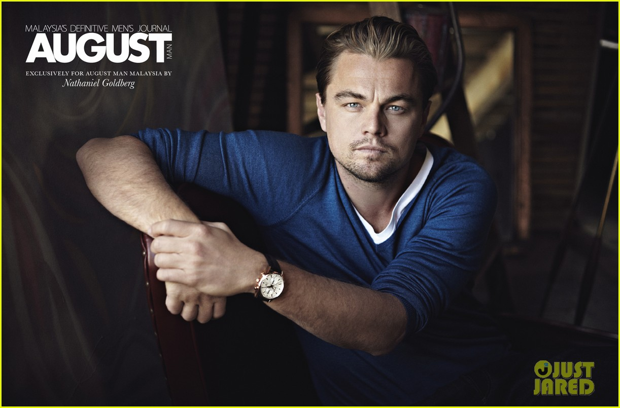 leonardo dicaprio covers august man february 2013 exclusive 032798220