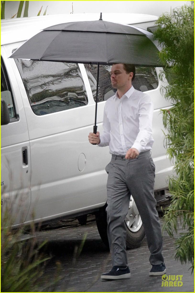 leonardo dicaprio jack daniels commercial in the rain 03
