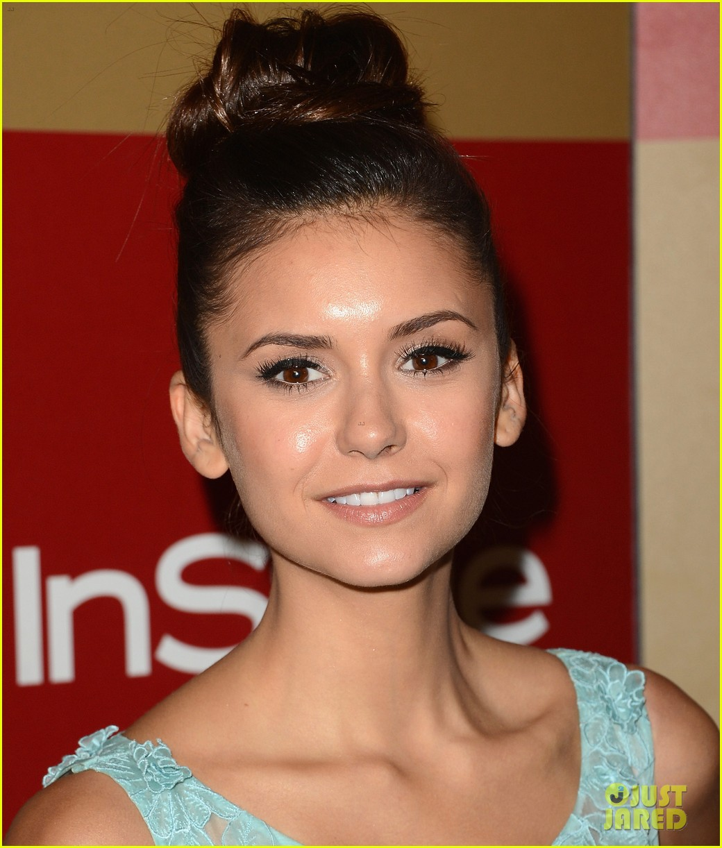 nina dobrev instyle golden globes party 2013 09
