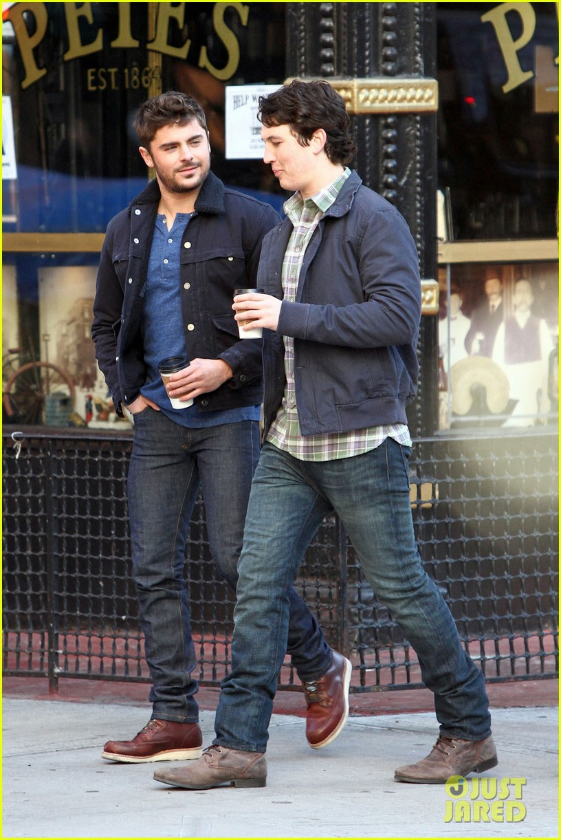 zac efron monday morning coffee with miles teller 01