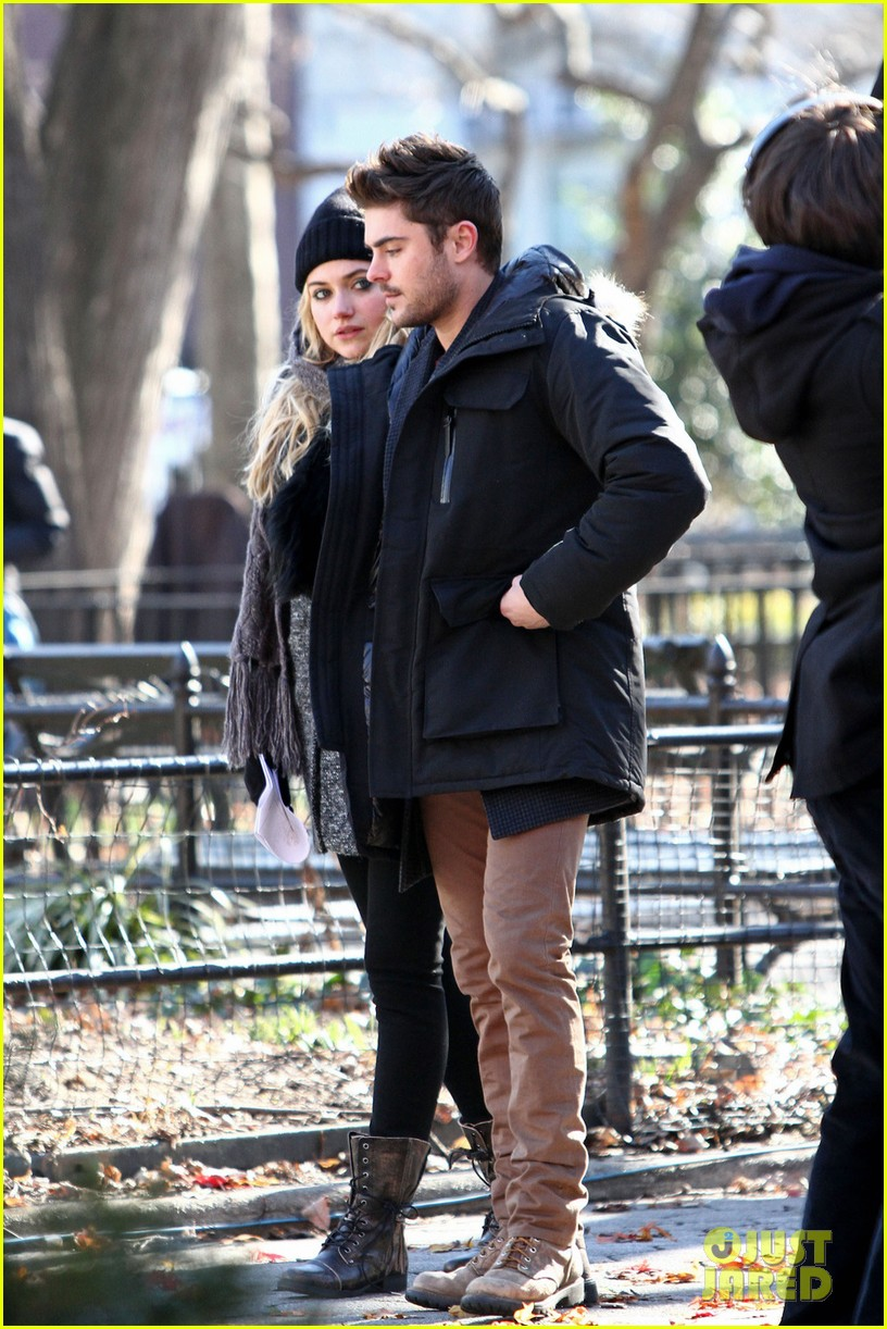 zac efron imogen poots park stroll for dating 012794326