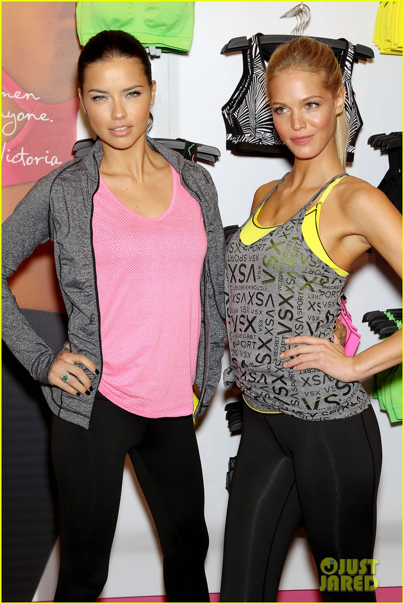 erin heatherton adriana lima victorias secret sport healthy year launch 21