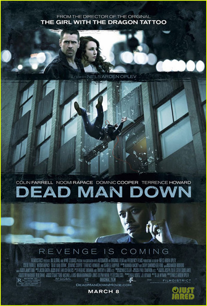 colin farrell newly released dead man down poster 05
