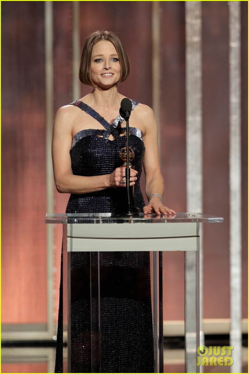 jodie foster coming out speech at golden globes 11