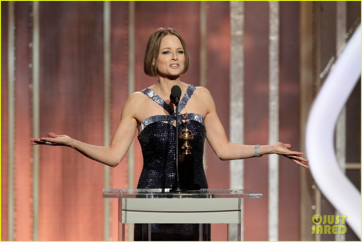jodie foster coming out speech at golden globes 15