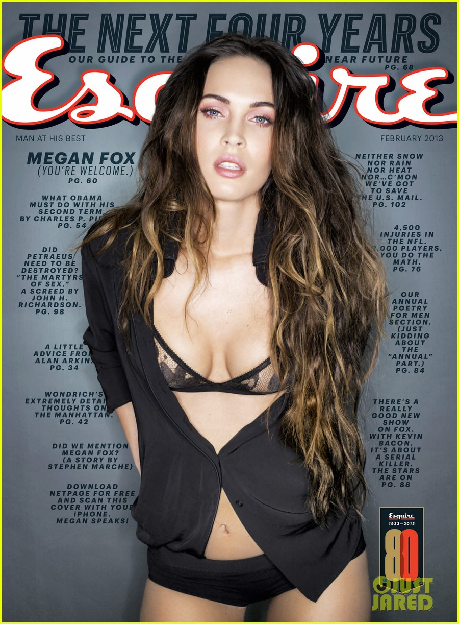 megan fox covers esquire february 2013 05