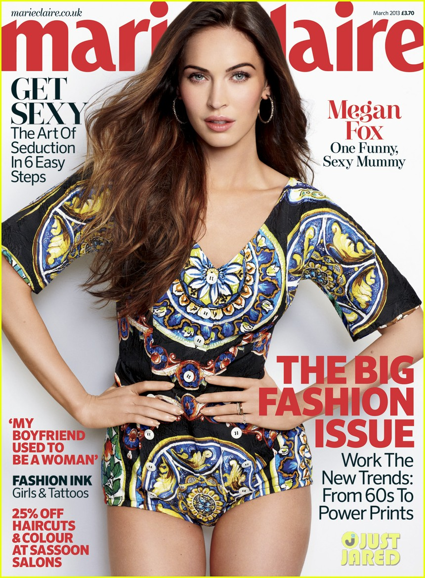 megan fox covers marie claire uk march 2013 03