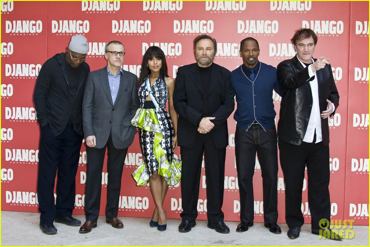 jamie foxx kerry washington django unchained rome photo call 012784635