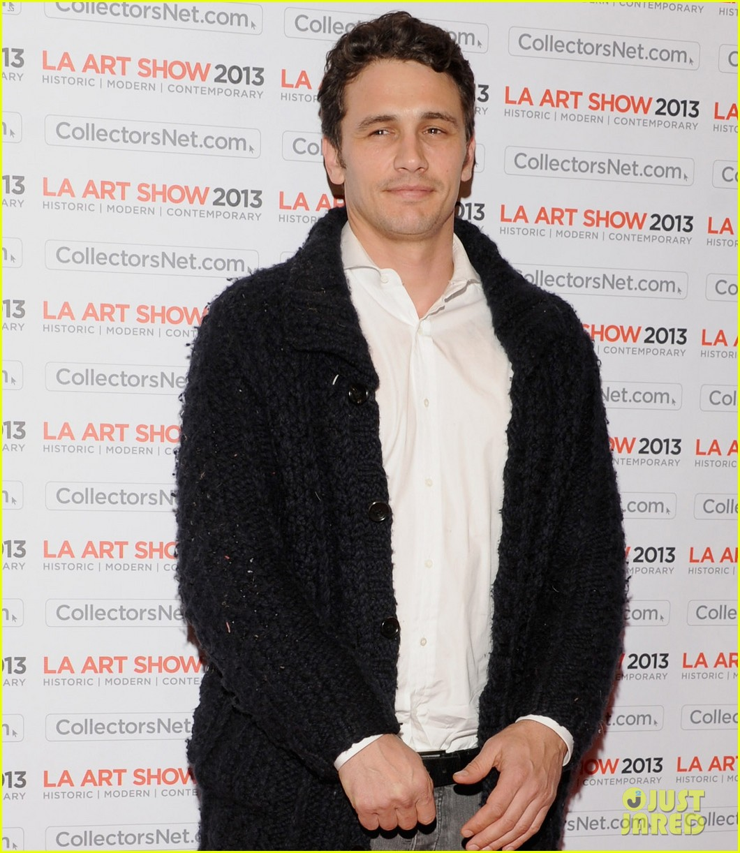 james franco la art show opening night premiere party 01