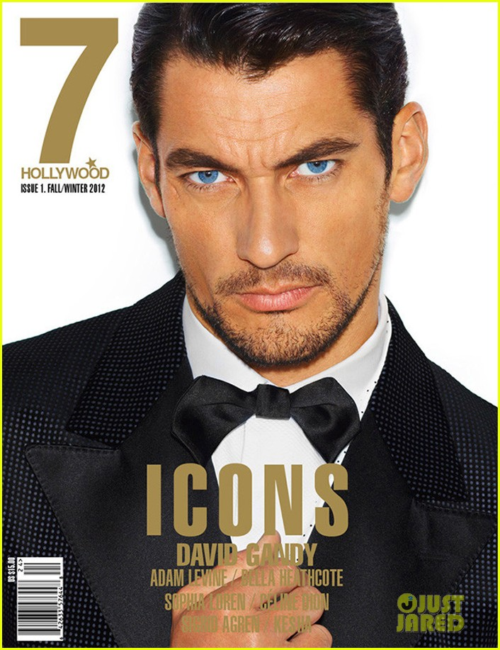 david gandy covers 7 hollywood icons issue 05