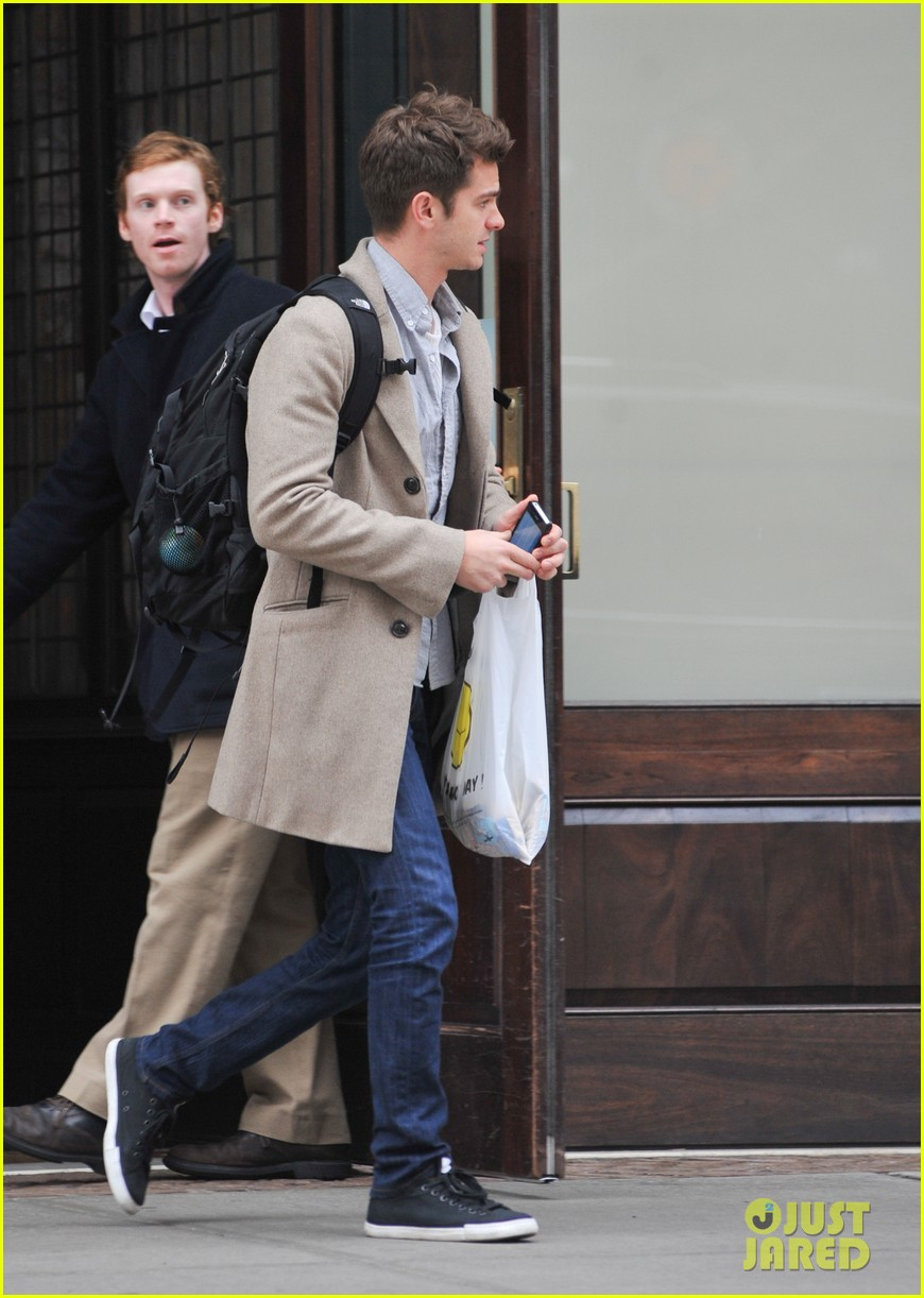 andrew garfield spider man sequel begins filming soon 07
