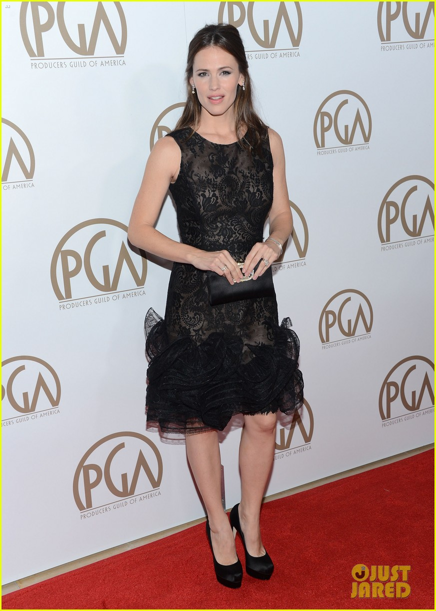 jennifer garner ben affleck pgas carpet 01