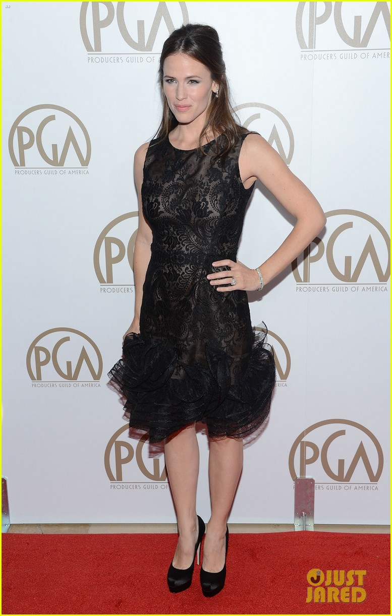 jennifer garner ben affleck pgas carpet 09