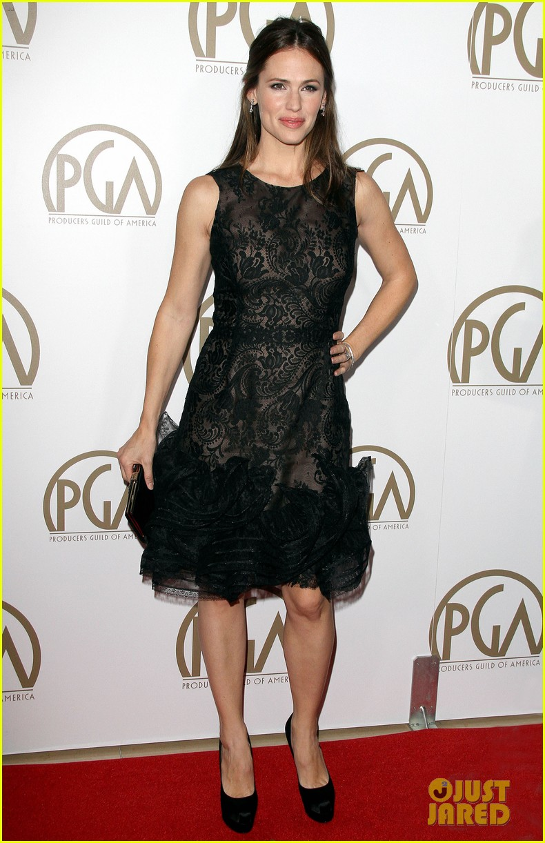 jennifer garner ben affleck pgas carpet 14