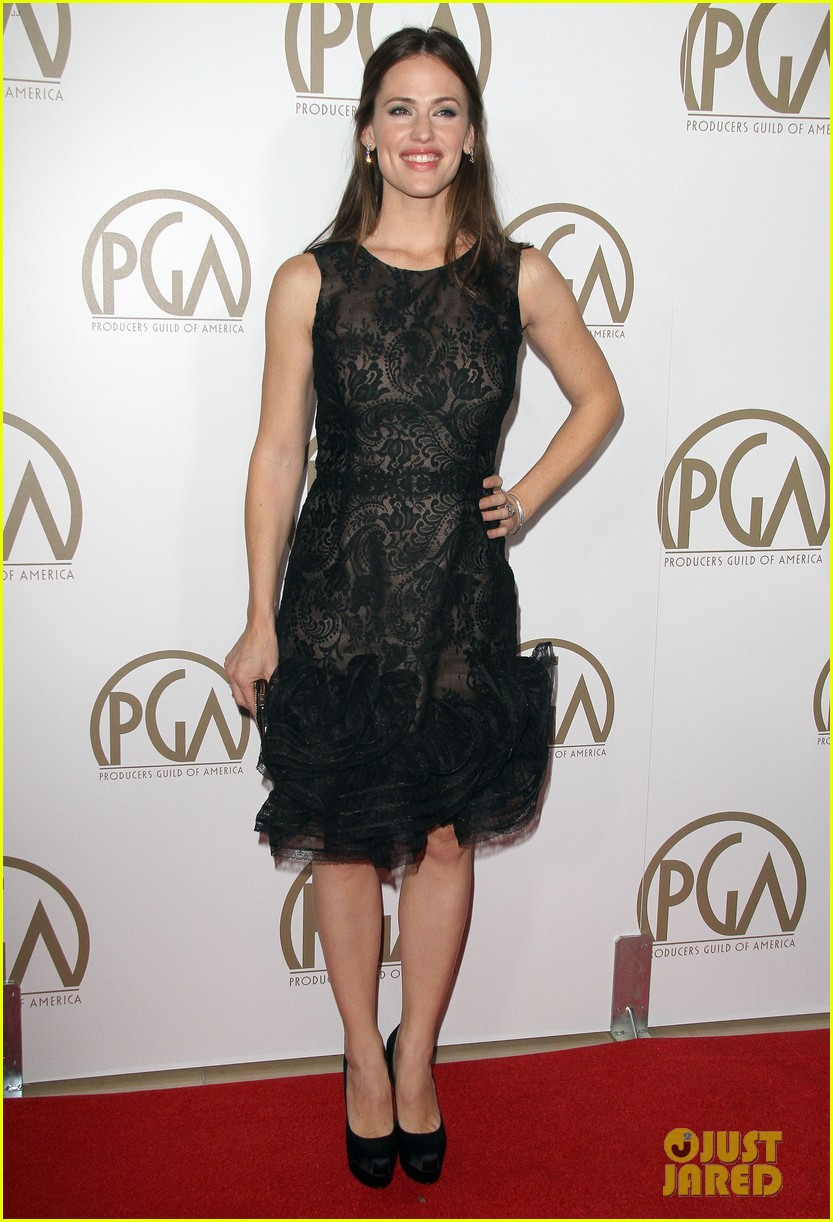 jennifer garner ben affleck pgas carpet 15