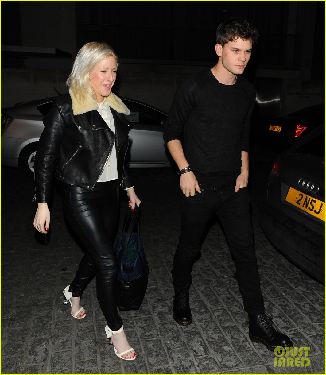 ellie goulding jeremy irvine zuma date night 09