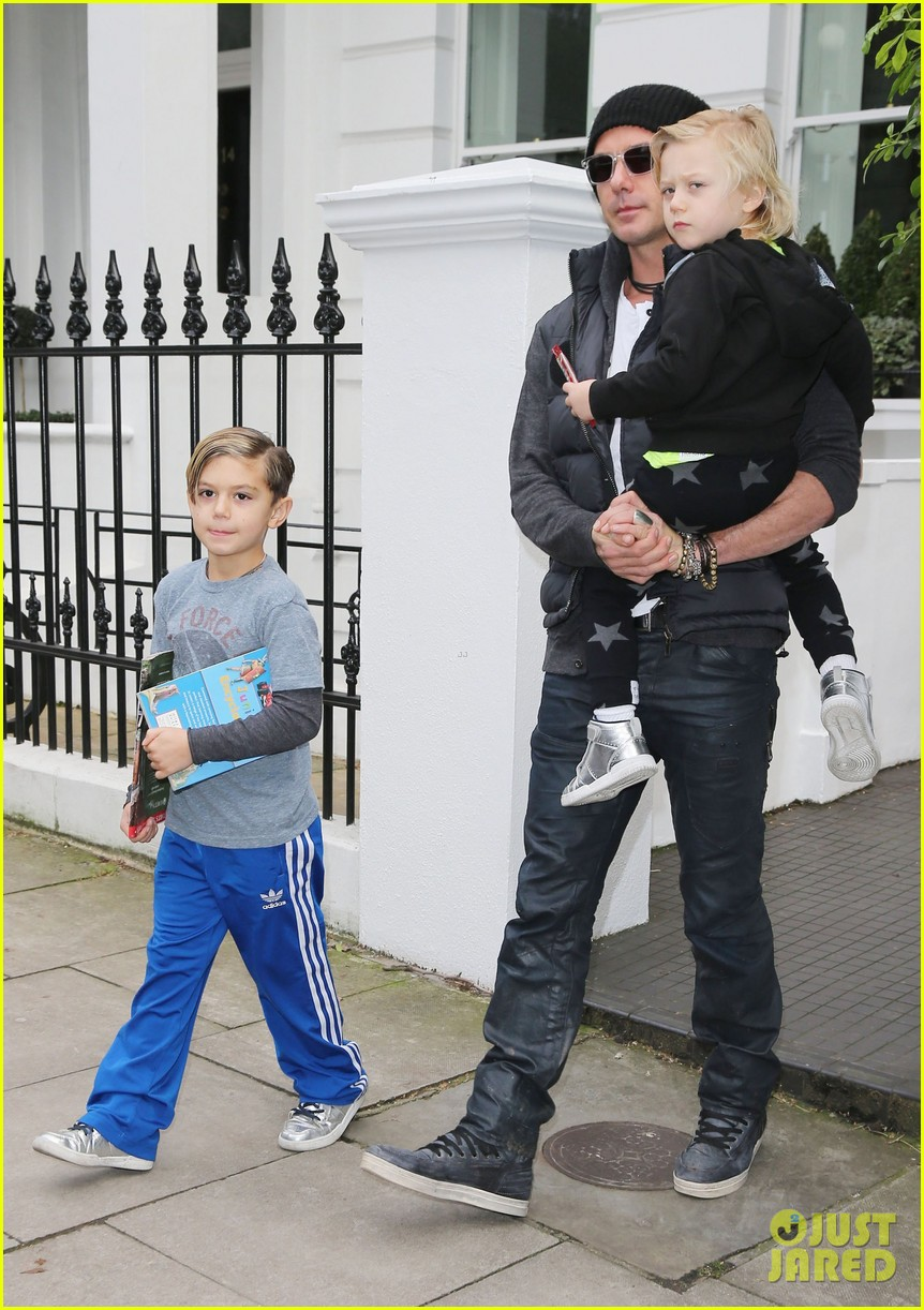 gwen stefani family later london 092784673